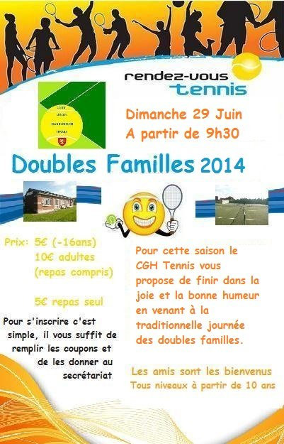 Double famille 2014