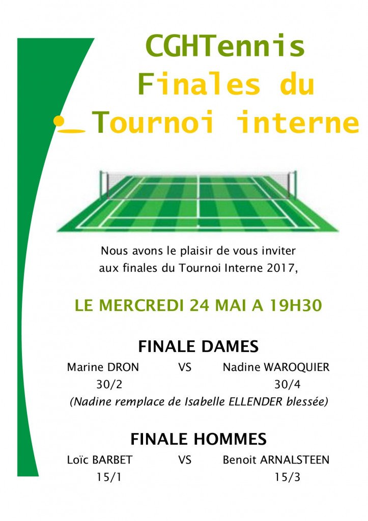Finales Tournoi interne 2017