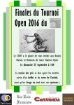Tournoi Open 2016 - Remise des prix