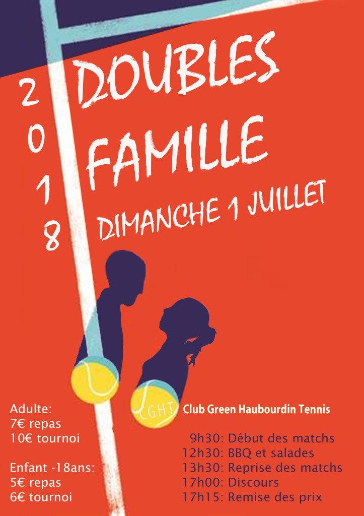 Affiche doubles famille