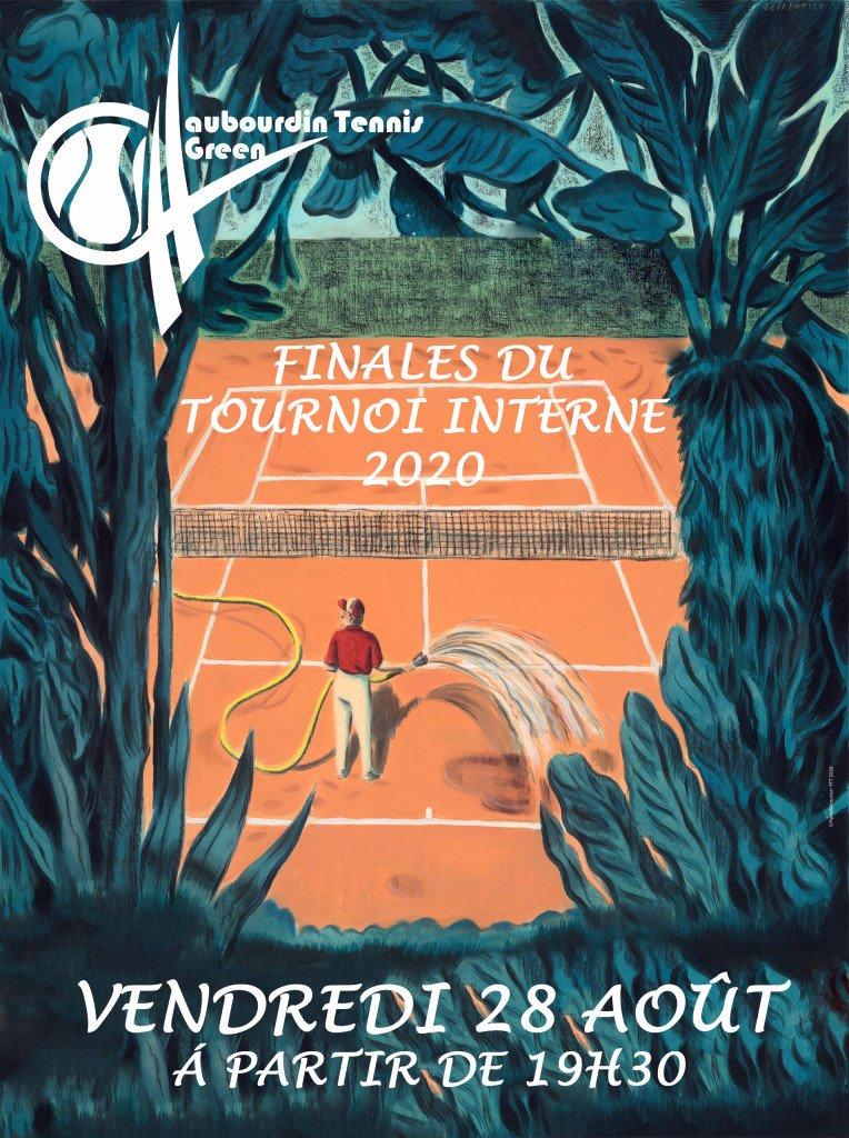 Affiche tournoi interne